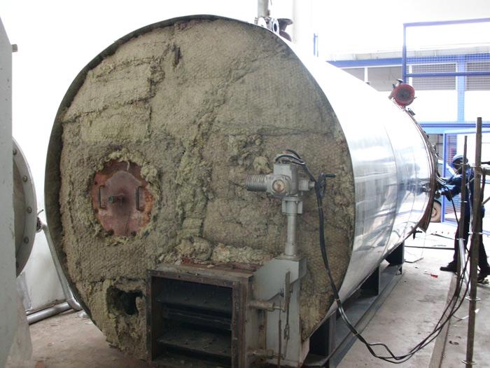 Aislamientos Y Refractarios En Las Calderas Industriales