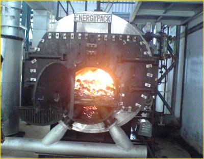 El Hogar De La Caldera Industrial